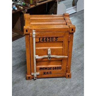 Schrank Mini-Container orange