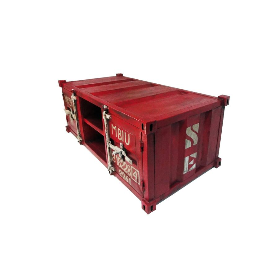 Couchtisch container rot - Couchtisch rot ...