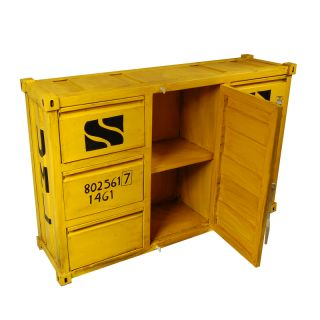 Sideboard Container L Gelb