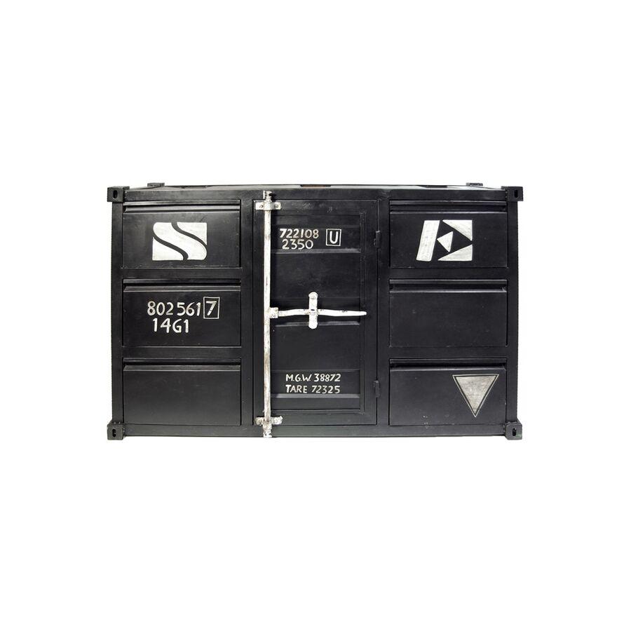 sideboard container mit loftcharakter im industriedesign. Black Bedroom Furniture Sets. Home Design Ideas