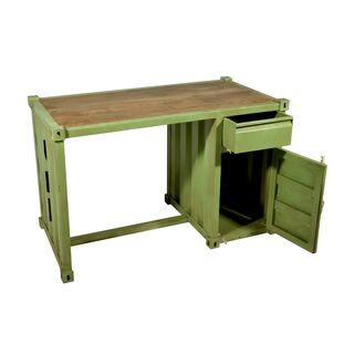 schreibtisch container hellgr n. Black Bedroom Furniture Sets. Home Design Ideas