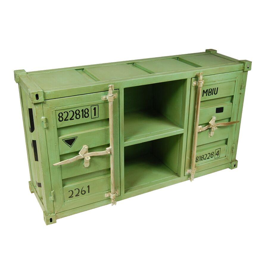 sideboard container hellgr n. Black Bedroom Furniture Sets. Home Design Ideas
