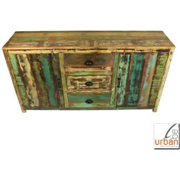 Sideboard Urban Home bunt 2T 3S