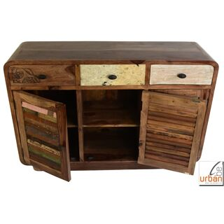 Sideboard Urban Kraft 3S/3T dark