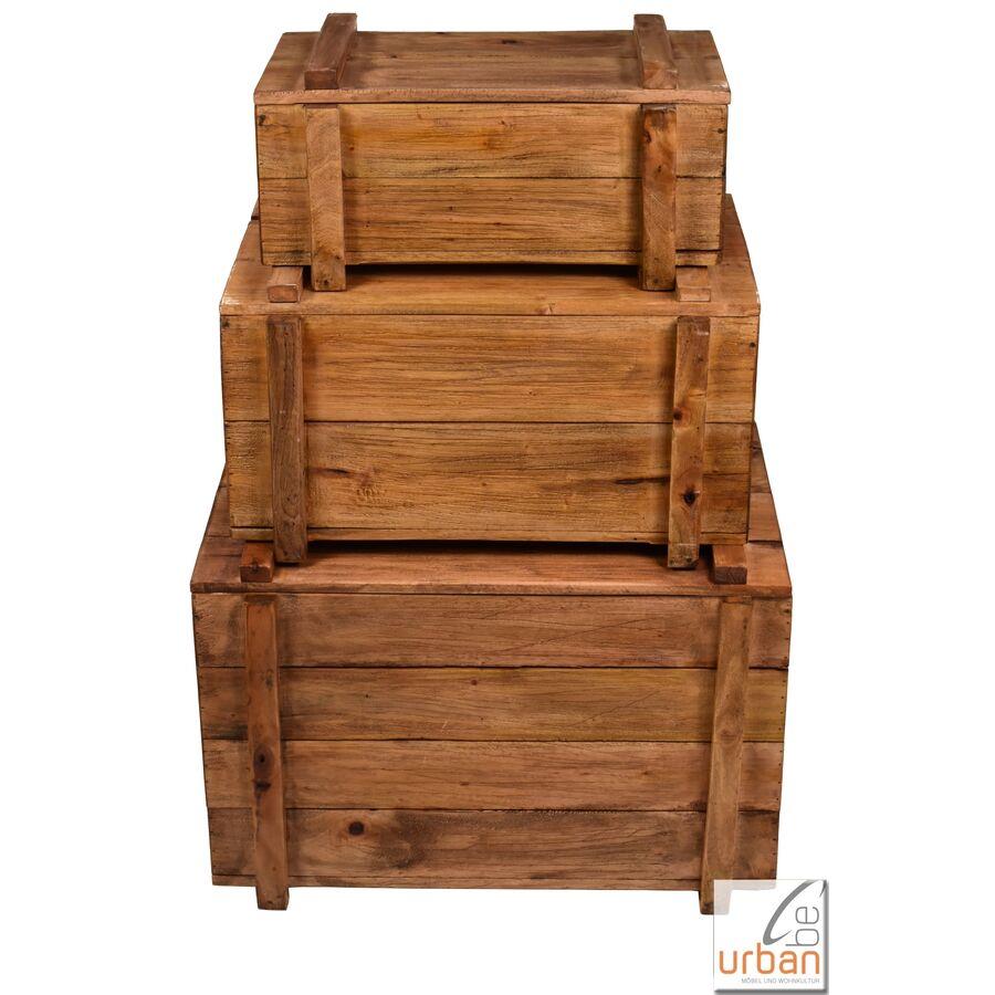 kisten mit deckel set gr e s bis l. Black Bedroom Furniture Sets. Home Design Ideas