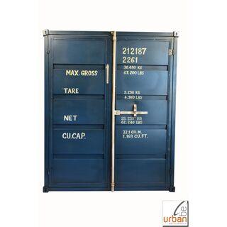Mobel Im Industriedesign Im Container Look Aus Metall