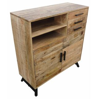 Highboard Urban Retro 2F/2T/3S