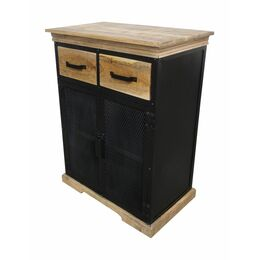Sideboard Urban Retro 2T/2S Metall